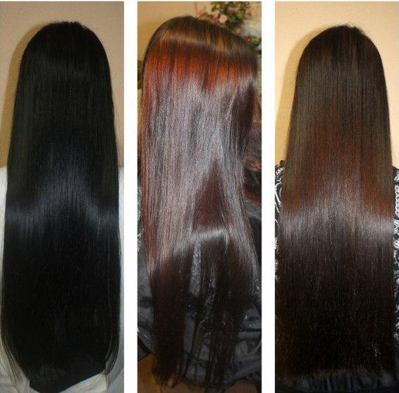 Смывка волос черного цвета фото до и после