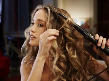 Создание красивых причесок с плойкой для завивки волос