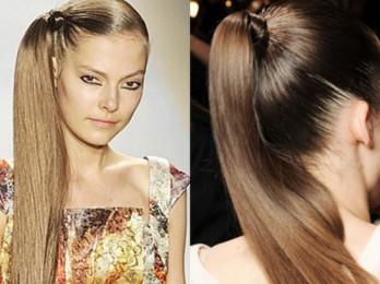 Элегантная и простая укладка волос на каждый день