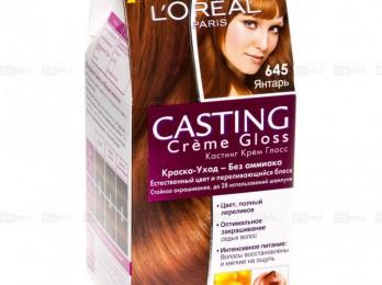 Популярные цвета краски для волос Лореаль Кастинг