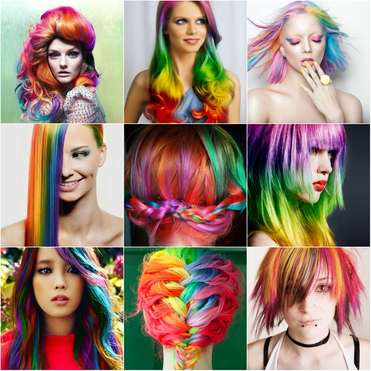 Спрей-краска для волос смываемая водой