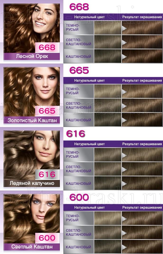 Краска-мусс для волос палитра цветов перфект мусс палитра