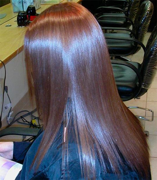 Ламинирование волос дома.желатином