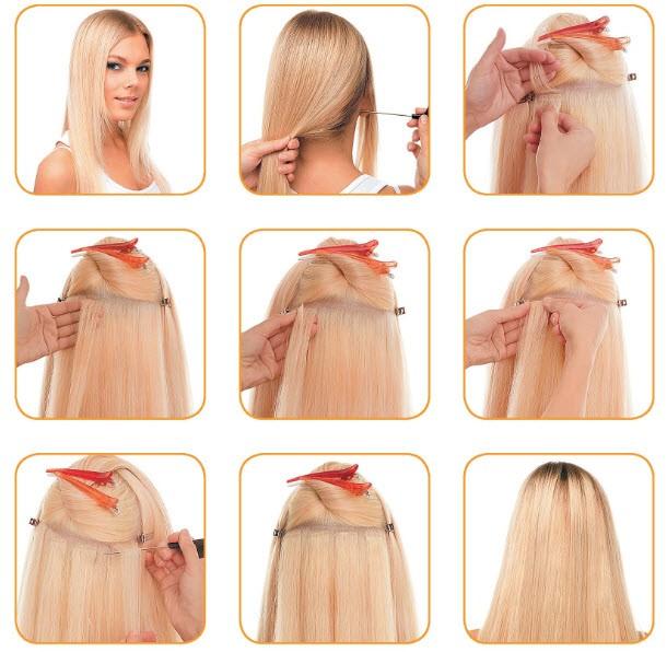Как нарастить волосы самостоятельно видео