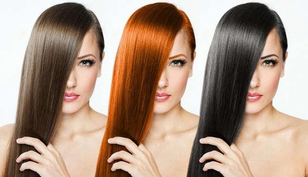 Подбор краски для волос