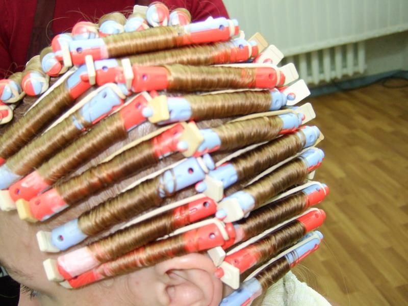 Коклюшки для завивки волос