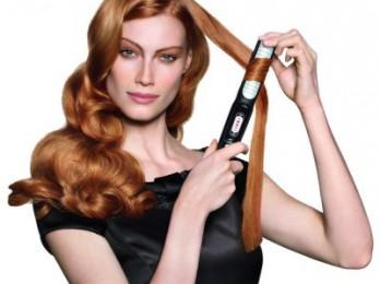 Эффектная и красивая завивка волос плойкой
