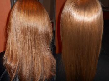 Метод японского выпрямления волос