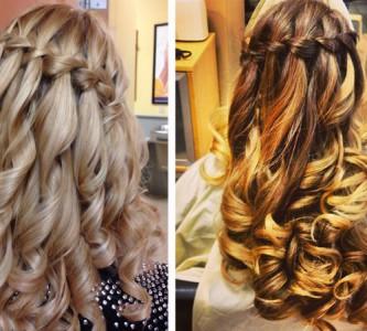 Секреты причесок с плетением на длинные волосы