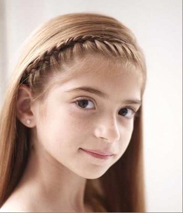 Коса-ободок
