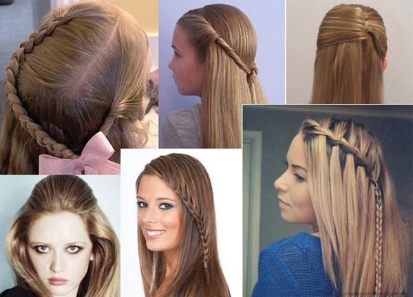 Прически на школу легкие на длинные волосы