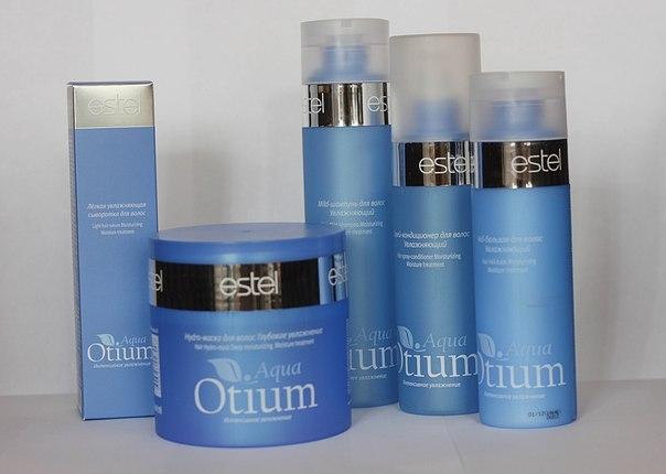 Шампуни Эстель из серии Aqua Otium