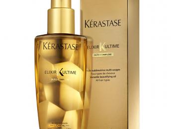 Ухаживаем за волосами с помощью масла Керастаз