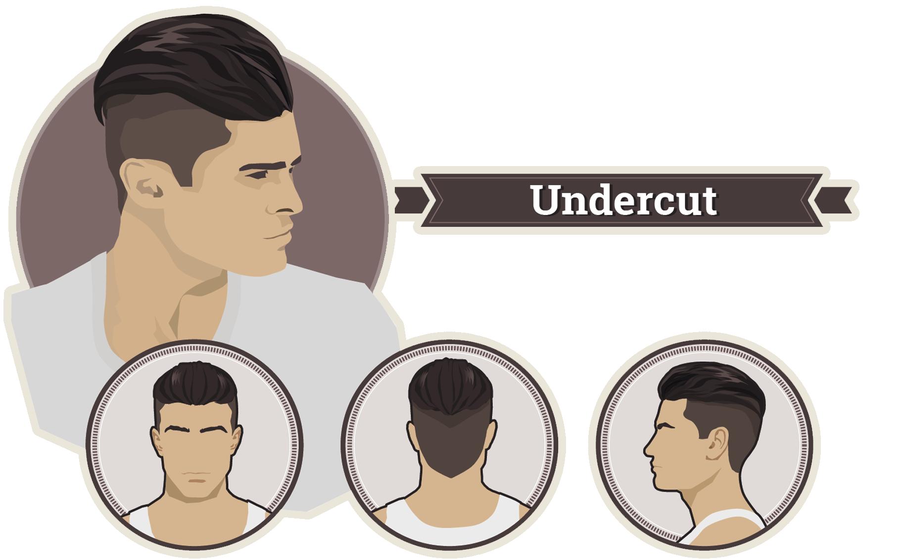 Фото мужских причесок на короткие волосы с челкой 17