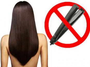 Способы выпрямления волос без утюжка
