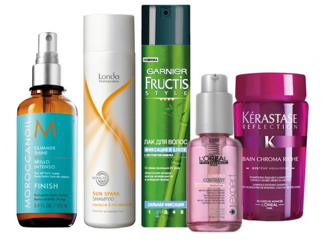 Средства для волос профессианальные