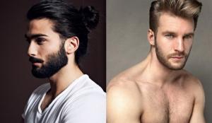 Мужские прически с бородой: фото, стильные варианты