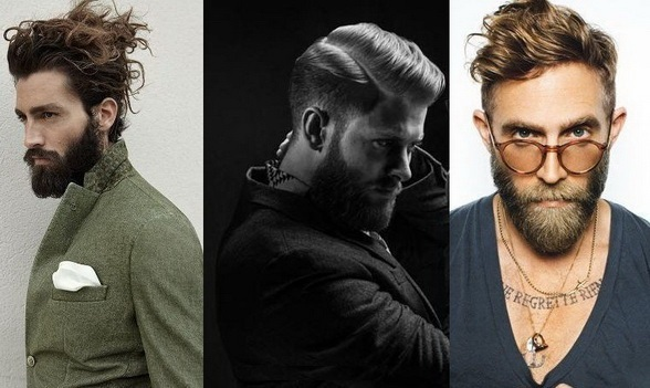 модные прически для бороды