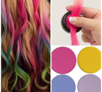 Новинка в сфере окрашивания — цветные мелки для волос