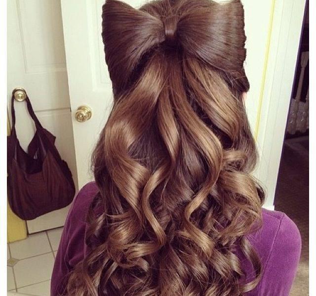 Причёски для длинных волос для девочек 12 лет