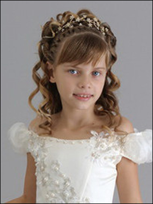 Платье и диадема