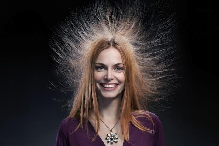 Наэлектризованные волосы