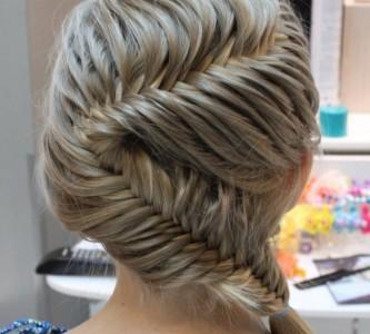 Уроки плетения причесок с косами на средние волосы