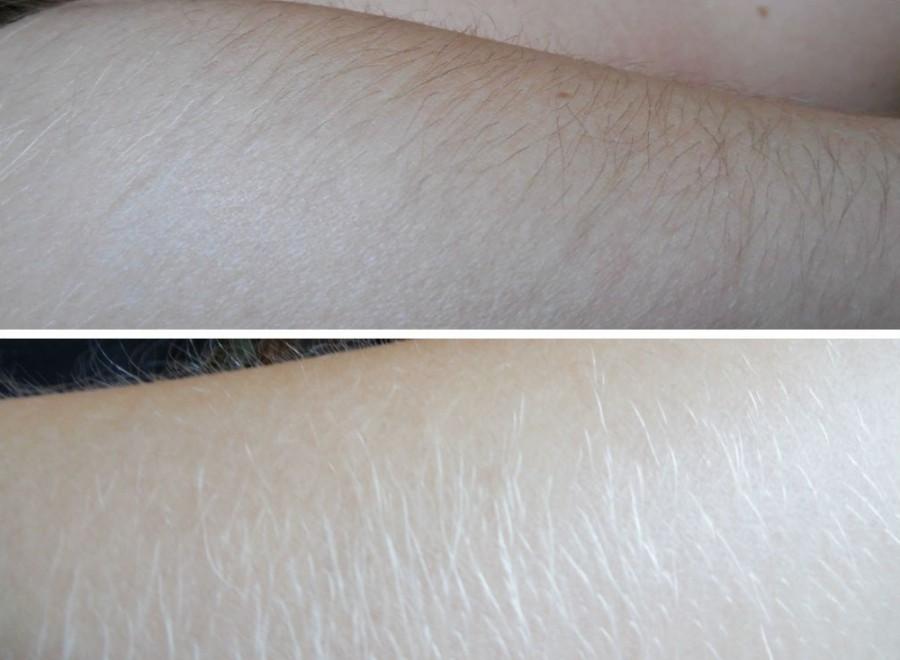 Обесцветить волосы в домашних условиях на руках