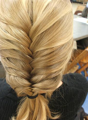 Объемная коса