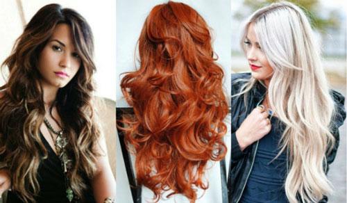 Каскад на вьющихся волосах