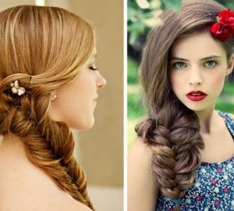 Какую прическу можно сделать на выпускной для средних волос?