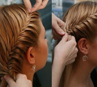 Идеи для новогодних причесок для средних волос