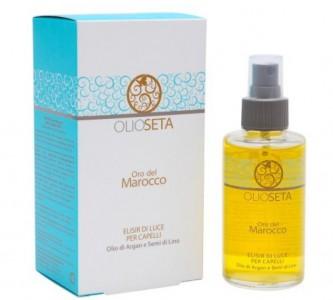 Ценный состав марокканского масла для волос