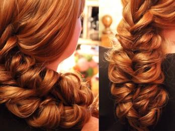 Простая прическа для длинных волос на каждый день