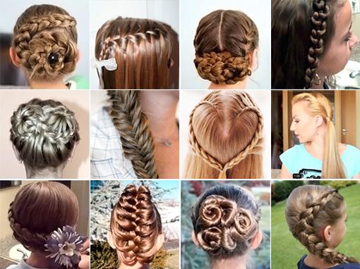 Какую причёску в школу