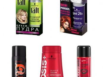 Пользуемся пудрой для волос