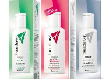 Спасительное средство от заболеваний кожи головы с шампунем Фридерм