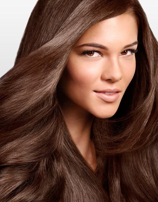 оттенки коричневый цвет волос