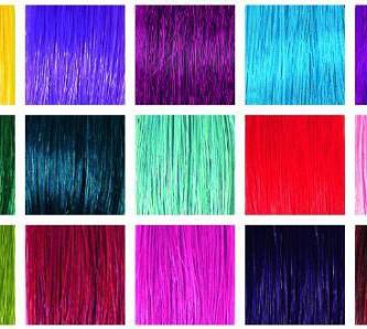 Разнообразие палитры цветов тоников для волос