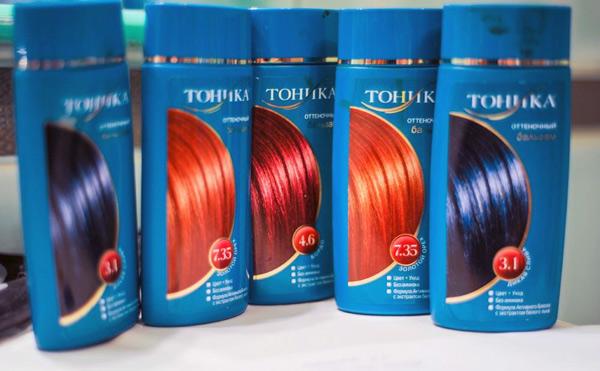 оттеночные шампуни тоника для волос
