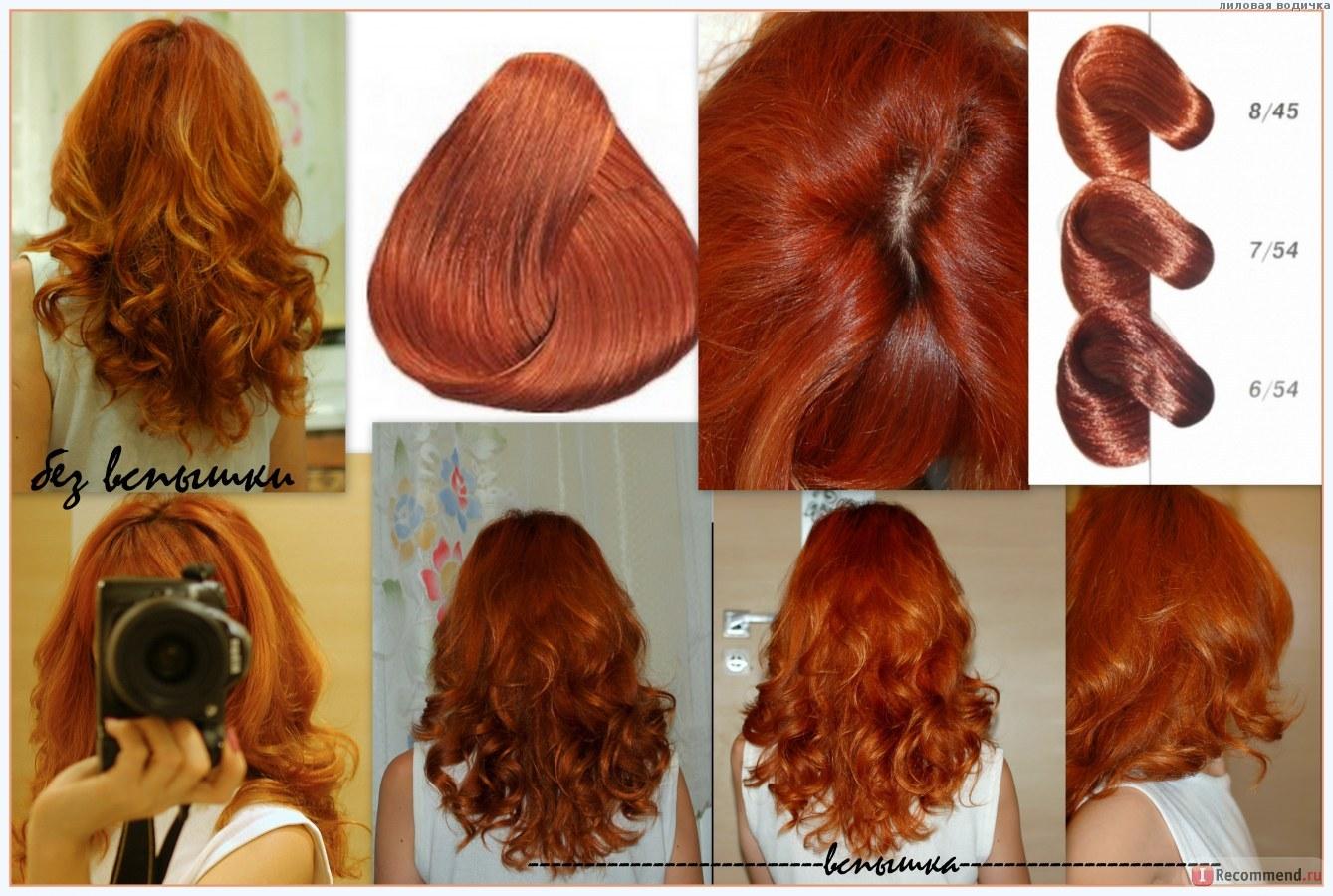 Краска эстель проф палитра цветов фото на волосах