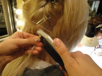 Описание процедуры ультразвукового наращивания волос