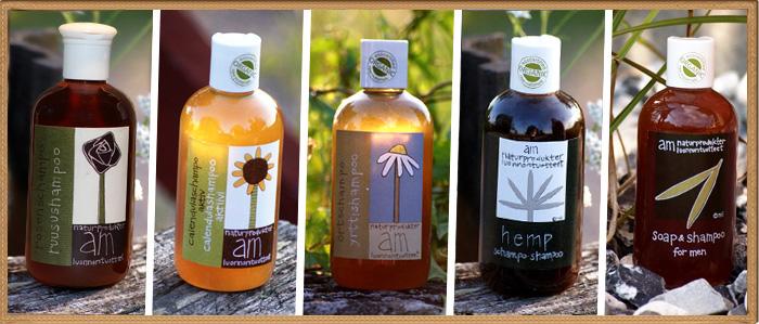 Шампуни из органический ингредиентов