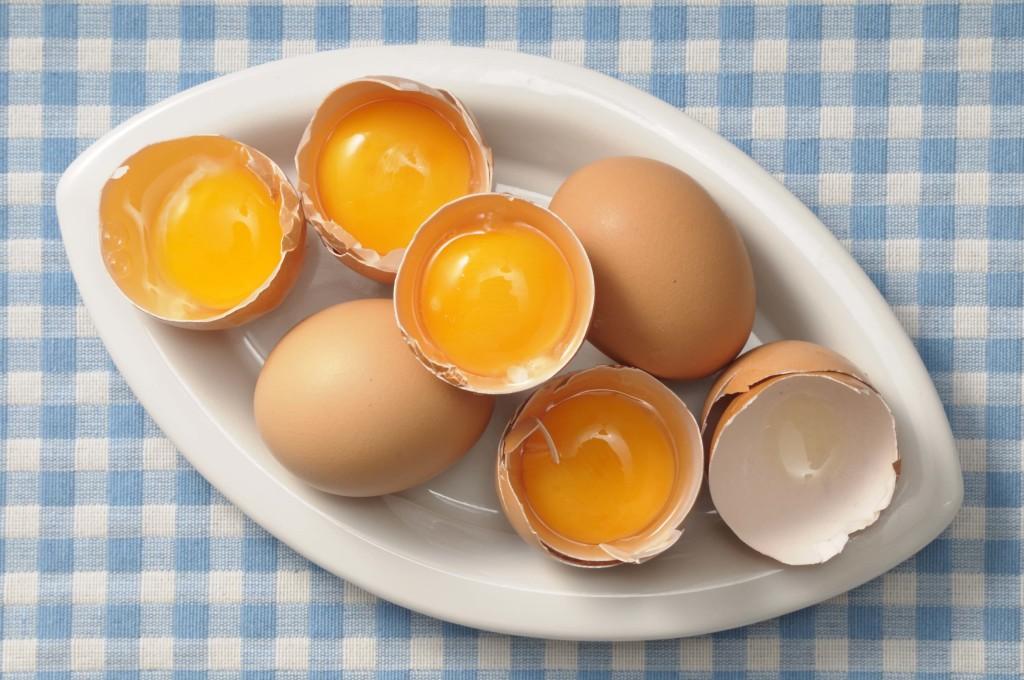 Яйца - источник витаминов
