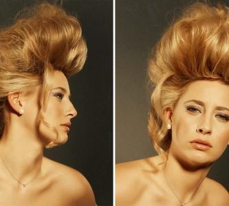 Многообразие и простота исполнения высоких причесок на длинные волосы