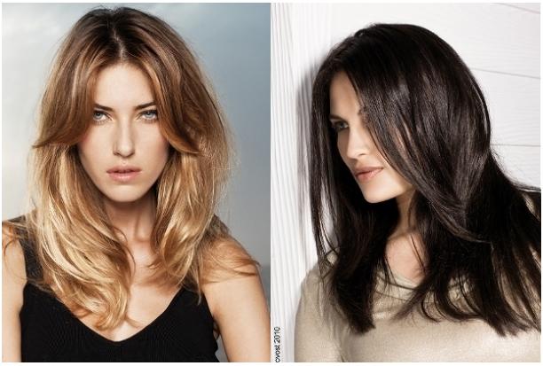 Градуированные стрижки на средние волосы фото