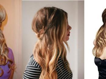 Объемные прически для жидких и тонких волос