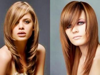 Как подобрать стрижку на длинные волосы с челкой?