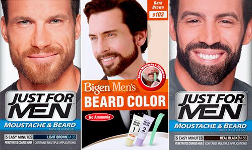 Краска для бороды