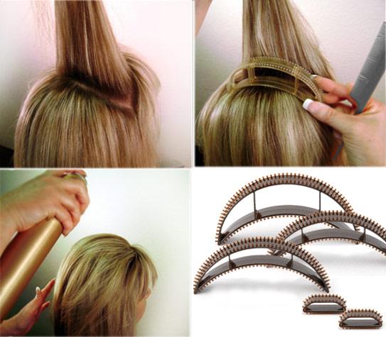 Как сделать объём на волосах без лака